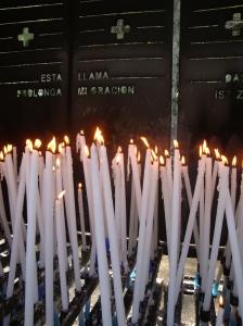 La lumière à Lourdes